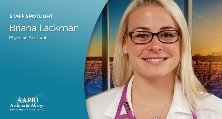 AAPRI Staff Spotlight – Meet Briana Lackman, PA-C